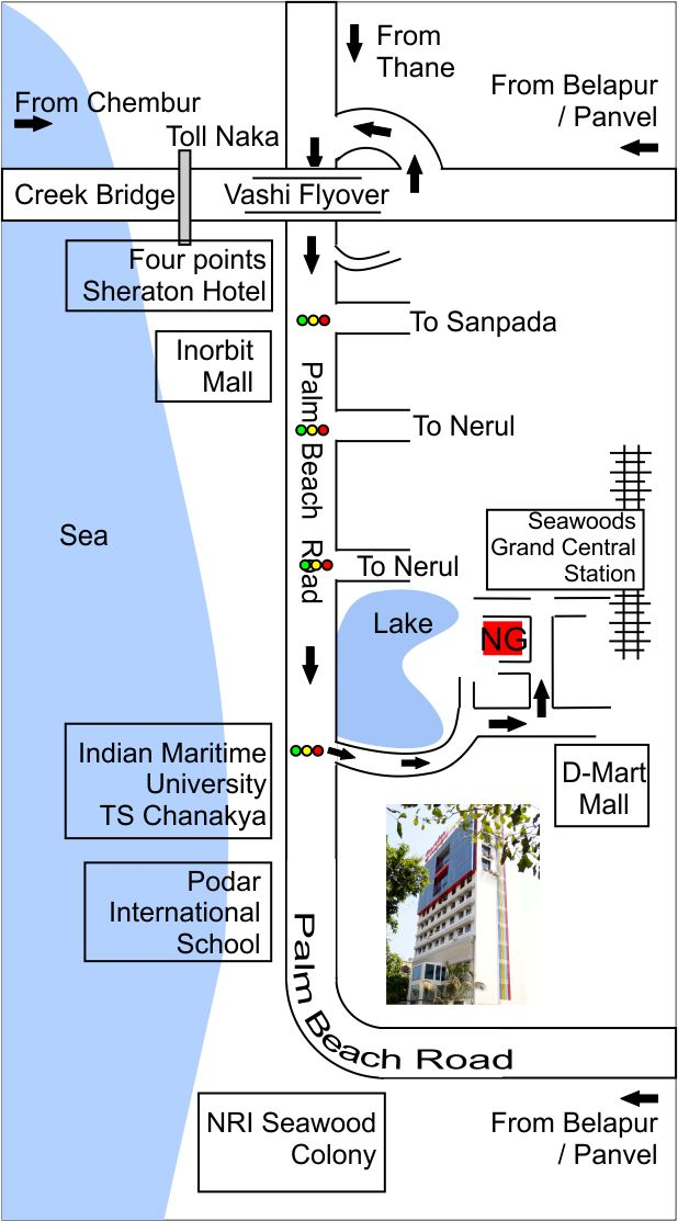 NeuroGen Brain & Spine Institute - StemAsia Hospital Map
